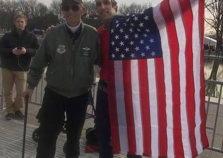 A True Honor: Jonathan meets WWIIVet.